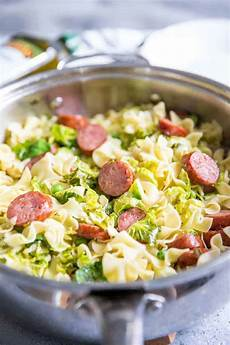 easy cabbage and sausage recipe lemonsforlulu