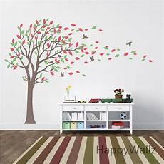 grand arbre stickers muraux b 233 b 233 p 233 pini 232 re arbre stickers