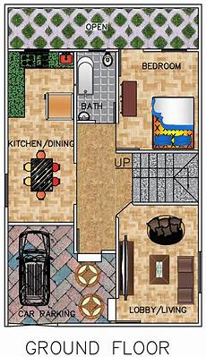 house plan for 25 by 40 plot size floor plan for 25 x 40 plot 3 bhk 1000 square 111