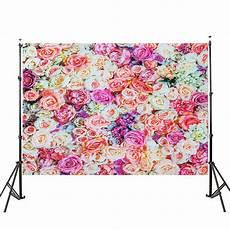 3x5ft 5x7ft Vinyl Adventure Begin by 3x5ft 5x7ft Vinyl Flower Wall Photography Backdrop