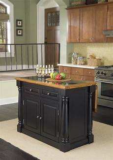 Furniture Quality Kitchen Islands by Home Styles Monarch Leg Kitchen Island With Granite Top