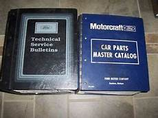 free car repair manuals 1985 lincoln town car engine control 1985 lincoln continental mark vi town car factory parts catalog manual set ebay