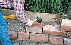 Gartenmauer Selber Bauen Selbst De