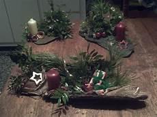 Weihnachtsgestecke Aus Naturmaterialien Creadoo