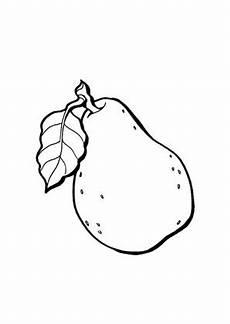 Ausmalbilder Apfel Und Birne Ausmalbilder Birne Obst Und Gem 252 Se Malvorlagen
