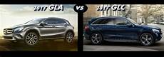 mercedes gla avis 2017 mercedes gla vs 2017 mercedes glc