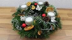 weihnachtsdeko adventskranz deko ideen mit flora shop