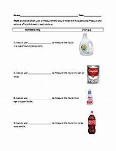 milliliters and liters worksheet by mrsteacherlady tpt