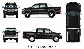 Pickup Truck Illustrations And Clipart 5171