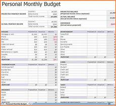 5 monthly bills spreadsheet template excel spreadsheets group