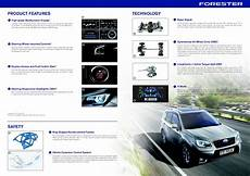 subaru forester brochure 8 changes with the 2016 subaru forester and 3 that