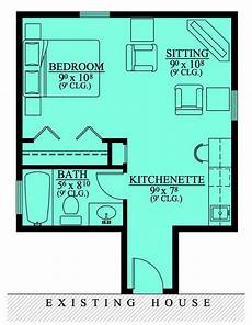 ranch house plans with inlaw suite 67 best mother in law suites images on pinterest small
