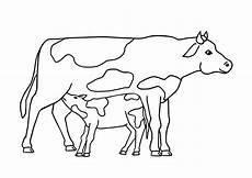 malvorlagen tiere kuh kuh malvorlagen kostenlos zum ausdrucken ausmalbilder
