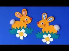 Osterhasen Easter Bunny Aus Papier Basteln Mit Kindern