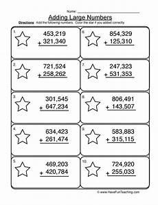 addition worksheets hundreds 8879 adding hundred thousands no regrouping worksheet 1