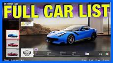 Forza Motorsport 7 Autos - forza motorsport 7 car list dlc cars forza