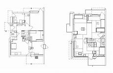 schroder house plan rietveld schr 246 der house cad design free cad blocks