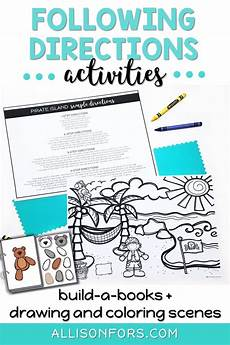 following directions comprehension worksheets 11654 listening comprehension interactive books following directions activities following