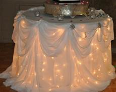 andrea howard blog decorating a cake table with lights