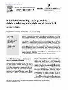 media mobile mobile marketing and mobile social media definition and