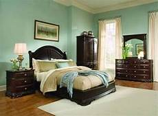 light green bedroom ideas with wood furniture