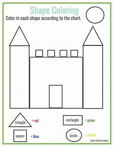 drawing shapes worksheets 1081 preschool printables martha