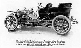 American Mercedes 1904 Automobile  Wikiwand