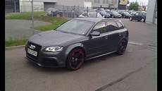 audi rs3 8p 340hp start up sound and drive