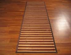 stuoia bamboo w387 stuoia passatoia cucina bamboo naturale cm 55x180 ebay