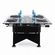 Table De Repas Baby Foot Rectangle Noir Hauteur 76cm