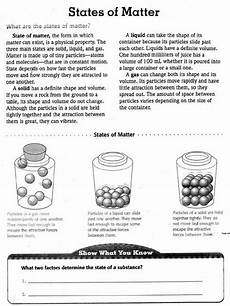 physical science worksheets grade 11 13015 changes of state worksheet answers matter worksheets states of matter states of matter worksheet