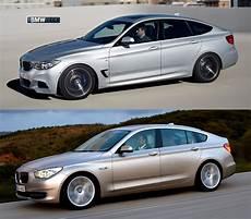 Photo Comparison Bmw 3 Series Gt Vs Bmw 5 Series Gt