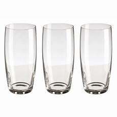 de verre prix lot de 3 verres quot style quot 44cl transparent