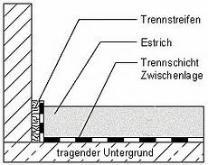 Estrich Auf Trennschicht Im Umfangreichsten Baulexikon Und