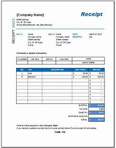 itemized receipt template excel itemized receipt templates 11 free printable word
