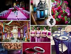 mr and mrs leonard purple pink silver wedding theme
