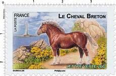 lettre chevaux 2016 timbre le cheval breton wikitimbres