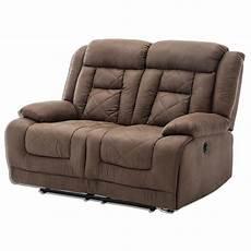 2 sitzer couch 2 sitzer sofa vintage braun kunstleder online bei