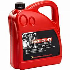 racing dynamic synthoil sae 5w 40 synthetisch 4000 ml