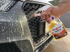 cleaning bugs off your car the safe way