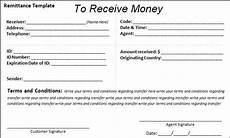 10 remittance templates free word templates