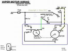 Wiper Motor Wire Colors Spitfire Gt6 Forum Triumph