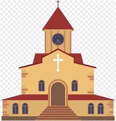 Gereja Kartun Gambar Gambar Png