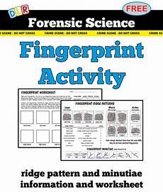 forensic science fingerprint diagrams activity worksheet forensics forensics forensic
