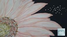 Acryl Malvorlagen Blumen Diy Malen Acryl Wie Eine Blume Bl 252 Te Gerbera Malt