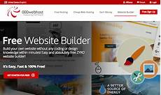 best free web page builder the 19 best free website builders 2018 all their pros