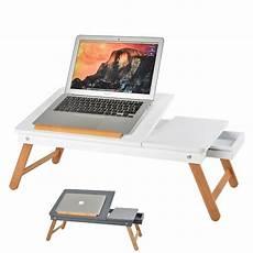 tavolo da letto tavolino notebook vassoio in legno per pc tavolo