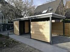 carport mit schuppen moderne einzelcarports im individuellen design carporthaus