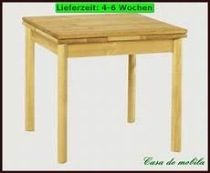 Tisch 60 X 80 Ausziehbar - esstisch tisch 80x80 ausziehbar k 252 chen holz kiefer massiv