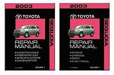 car engine repair manual 2011 toyota sequoia auto manual 2003 toyota sequoia shop service repair manual ebay